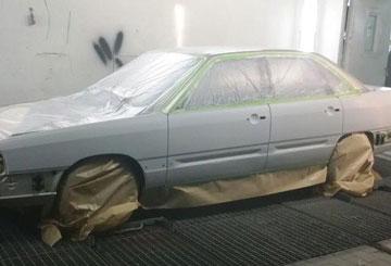 Abdeckung Auto Krafa Autolackiererei Herne